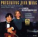 Other - Jian Wang(Vc)-chopin, Barber, Shcumann 輸入盤 【CD】