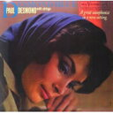 【送料無料】 Paul Desmond ポールデスモンド / Desmond Blue 【LP】