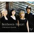 【送料無料】 Beethoven ベートーヴェン / ベートーヴェン:弦楽四重奏曲第11番『セリオーソ』、モーツァルト:弦楽四重奏曲第16番、アダージョとフーガ キアーロスクーロ・カルテット 輸入盤 【CD】