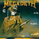 Artist Name: M - Megadeth メガデス / So Far So Good So What 【SHM-CD】