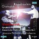 【送料無料】 Shostakovich ショスタコービチ / 交響曲第6番、ヴァイオリン協奏曲第1番 コンドラシン&モスクワ・フィル、オイストラフ(vn)(1967) 輸入盤 【CD】
