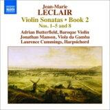 Leclair ルクレール / ヴァイオリン・ソナタ作品2 第1、2、3、4、5、8番 バターフィールド、J.マンソン、L.カミングス 輸入盤 【CD】
