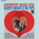 Artist Name: G - Gladys Knight&The Pips グラディスナイト&ザピップス / Everybody Needs Love: 誰もが愛を求めてる 【CD】