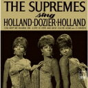 Artist Name: D - Diana Ross&Supremes ダイアナロス&シュープリームス / Sing Holland Dozier Holland 【CD】