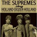 艺人名: D - Diana Ross&Supremes ダイアナロス&シュープリームス / Sing Holland Dozier Holland 【CD】