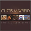 Artist Name: C - 【送料無料】 Curtis Mayfield カーティスメイフィールド / 5cd Original Album Series 輸入盤 【CD】