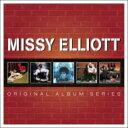 藝人名: M - 【送料無料】 Missy Elliott ミッシーエリオット / 5cd Original Album Series 輸入盤 【CD】