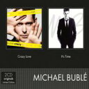 Artist Name: M - 【送料無料】 Michael Buble マイケルブーブレ / Crazy Love / It's Time 輸入盤 【CD】