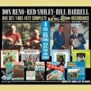 【送料無料】 Don Reno / Red Smiley / Bill Harrell / 1963-1972 Complete King Starday Recordings: 3 輸入盤 【CD】
