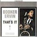 Artist Name: B - Booker Ervin ブッカーアービン / That's It 輸入盤 【CD】