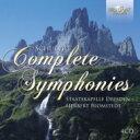 Composer: Sa Line - 【送料無料】 Schubert シューベルト / 交響曲全集 ブロムシュテット&シュターツカペレ・ドレスデン(4CD) 輸入盤 【CD】