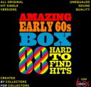 【送料無料】 Amazing Early 60s Box: 88 Hard-to-find Hits 輸入盤 【CD】