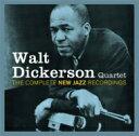 Artist Name: W - 【送料無料】 Walt Dickerson ウォルトディッカーソン / Complete New Jazz Recordings 輸入盤 【CD】