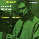 Artist Name: Z - Zoot Sims ズートシムズ / Down Home 輸入盤 【CD】
