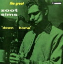 Zoot Sims ズートシムズ / Down Home 【LP】