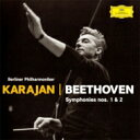作曲家名: Ha行 - 【送料無料】 Beethoven ベートーヴェン / 交響曲第1番、第2番 カラヤン&ベルリン・フィル(1961、62)(プラチナSHM) 【SHM-CD】
