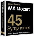 作曲家名: Ma行 - 【送料無料】 Mozart モーツァルト / 交響曲全集 アダム・フィッシャー&デンマーク国立室内管弦楽団(12CD) 輸入盤 【CD】