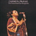艺人名: C - Carmen Mcrae カーメンマクレエ / Great American Songbook Vol.2 【CD】
