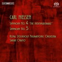 Composer: Na Line - 【送料無料】 Nielsen ニールセン / 交響曲第4番『不滅』、第5番 オラモ&ロイヤル・ストックホルム・フィル 輸入盤 【SACD】