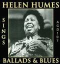 艺人名: H - Helen Humes / Sings Ballads & Blues 輸入盤 【CD】