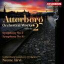 Composer: A Line - 【送料無料】 アッテルベリ(1887-1974) / 交響曲第2番、第8番 ヤルヴィ&エーテボリ交響楽団 輸入盤 【SACD】