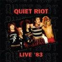 Artist Name: Q - 【送料無料】 Quiet Riot クワイエットライオット / Backstage Live 1983 輸入盤 【CD】