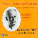 作曲家名: Ha行 - Beethoven ベートーヴェン / 交響曲第5番『運命』、第7番 フルトヴェングラー&ウィーン・フィル(1954、1950) 【CD】