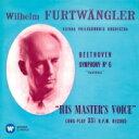 Beethoven ベートーヴェン / 交響曲第6番『田園』、第8番 フルトヴェングラー&ウィーン・フィル、ストックホルム・フィル(1952、1948) 【CD】