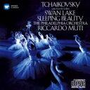 作曲家名: Ta行 - Tchaikovsky チャイコフスキー / 『白鳥の湖』組曲、『眠れる森の美女』組曲 ムーティ&フィラデルフィア管弦楽団 【CD】