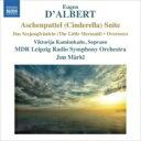 Composer: Ta Line - ダルベール(1864-1932) / 管弦楽組曲『シンデレラ』、『小さな人魚姫』、序曲集 準・メルクル&MDR交響楽団 輸入盤 【CD】