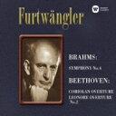 作曲家名: Ha行 - 【送料無料】 Brahms ブラームス / Sym, 4, : Furtwangler / Bpo (1948) +beethoven 【SACD】