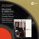 Sibelius シベリウス / Violin Concerto: Neveu(Vn) Susskind / Po +brahms: Concerto: Dobrowen / 【CD】