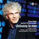 作曲家名: Ta行 - 【送料無料】 Debussy ドビュッシー / 交響詩『海』、牧神の午後への前奏曲、おもちゃ箱、他 ラトル&ベルリン・フィル 【SACD】
