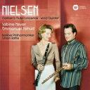 【送料無料】 Nielsen ニールセン / Flute Concerto, Clarinet Concerto, Wind Quintet: Pahud(Fl) S.meyer(Cl) Rattle / Bpo Baborak(..