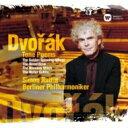 Composer: Ta Line - 【送料無料】 Dvorak ドボルザーク / Tone Poems: Rattle / Bpo 【SACD】
