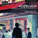 Composer: Ka Line - コジェルフ(1747-1818) / ピアノ・ソナタ全集第3集 ケンプ・イングリッシュ(フォルテピアノ) 輸入盤 【CD】