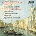 Vivaldi ヴィヴァルディ / ごしきひわ、海の嵐〜フルート協奏曲集 グラーフ、フェルバー&ヴェルテンベルク室内管 【CD】