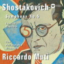 Symphony - Shostakovich ショスタコービチ / Sym, 5, : Muti / Philadelphia O +festive Overture 【CD】