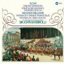 作曲家名: A行 - Elgar エルガー / Enigma Variations, Etc: Barbirolli / Po +vaughan-williams 【CD】