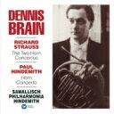 Strauss, R. シュトラウス / Horn Concerto, 1, 2, : Brain(Hr) Sawallisch / Po +hindemith 【CD】