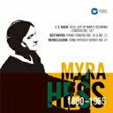 器乐曲 - Myra Hess: J.s.bach, Beethoven Brahms, Mendelssohn, Granados 【CD】