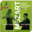作曲家名: Ma行 - 【送料無料】 Mozart モーツァルト / ヴァイオリン・ソナタ全集 ポッジャー、G.クーパー(8CD) 輸入盤 【CD】