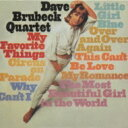 Artist Name: D - Dave Brubeck デイブブルーベック / My Favorite Things 【CD】