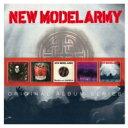 艺人名: N - 【送料無料】 New Model Army / 5cd Original Album Series Box Set 輸入盤 【CD】