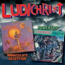 Artist Name: L - 【送料無料】 Ludichrist / Immaculate Deception / Powertrip 輸入盤 【CD】