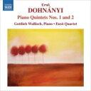 Composer: Ta Line - ドホナーニ、エルンスト・フォン(1877-1960) / ピアノ五重奏曲第1番、第2番 ヴァリッシュ、エンソ四重奏団 輸入盤 【CD】