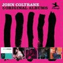 Artist Name: J - 【送料無料】 John Coltrane ジョンコルトレーン / 5 Original Albums (5CD) 輸入盤 【CD】
