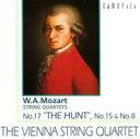 作曲家名: Ma行 - Mozart モーツァルト / W.A. モーツァルト:弦楽四重奏曲 第17番「狩」,第15番&第8番/ウィーン弦楽四重奏団 【CD】