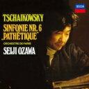 作曲家名: Ta行 - 【送料無料】 Tchaikovsky チャイコフスキー / 交響曲第6番『悲愴』、『くるみ割り人形』組曲、『眠りの森の美女』組曲 小澤征爾&パリ管(2CD) 【BLU-SPEC CD 2】