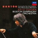 Orchestral Music - 【送料無料】 Bartok バルトーク / 管弦楽のための協奏曲、中国の不思議な役人、弦チェレ、ヴィオラ協奏曲 小澤征爾&ボストン響、ベルリン・フィル、クリスト(2CD) 【BLU-SPEC CD 2】